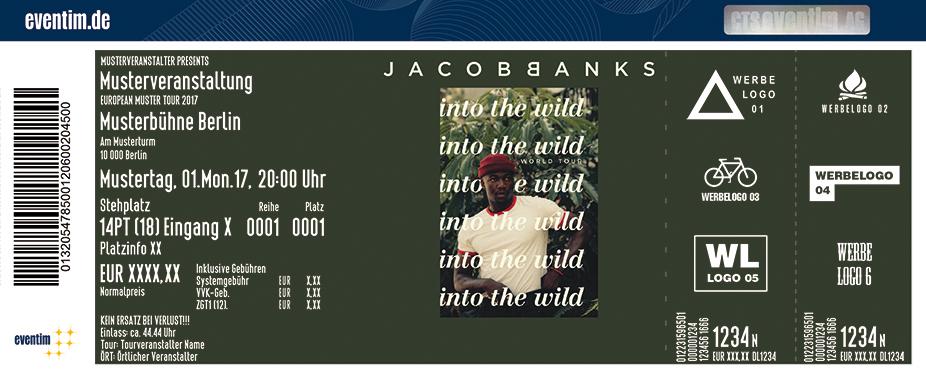 Jacob Banks Karten für ihre Events 2017