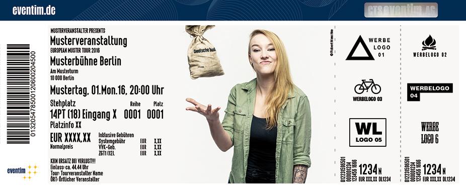 Karten für Jacqueline Feldmann: Plötzlich Zukunft! Konnt' ja keiner wissen! in Essen
