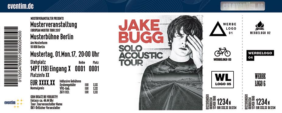Jake Bugg Karten für ihre Events 2017