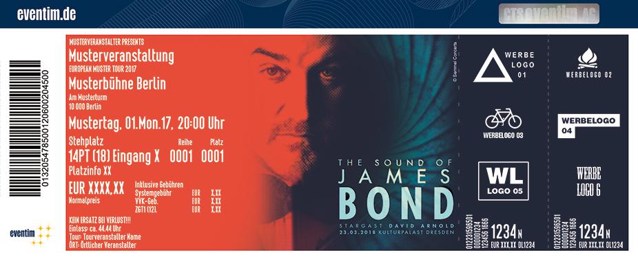 Karten für The Sound of James Bond - with David Arnold in Dresden