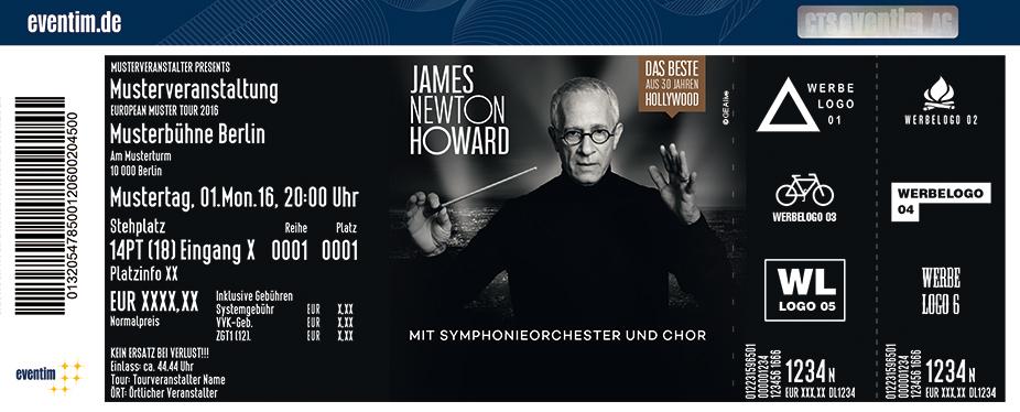 Karten für James Newton Howard: Das Beste aus 30 Jahren Hollywood in Düsseldorf