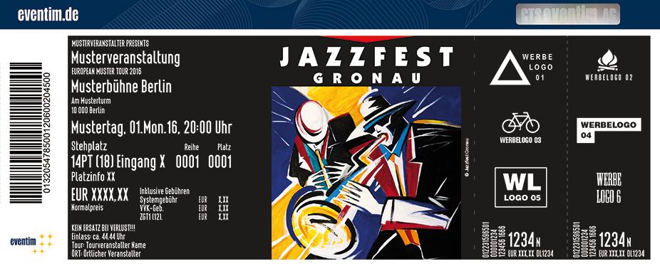 Jazzfest Gronau Karten für ihre Events 2017