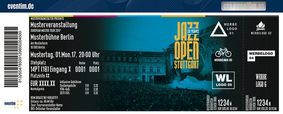 Jazzopen Stuttgart Karten für ihre Events 2018