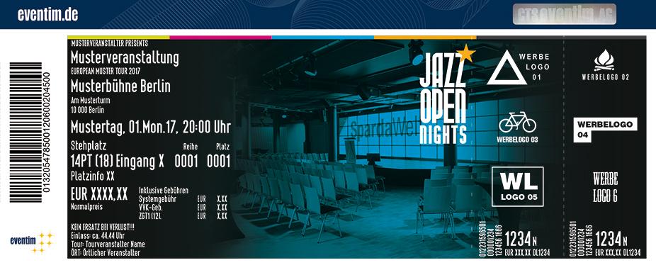 Jazzopen Stuttgart Karten für ihre Events 2017