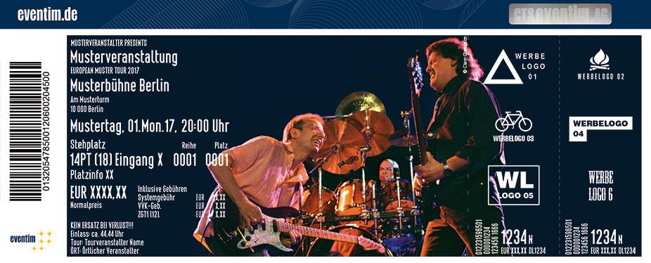 Karten für JCM feat. Jon Hisemann, Clem Clempson & Mark Clarke in Bonn