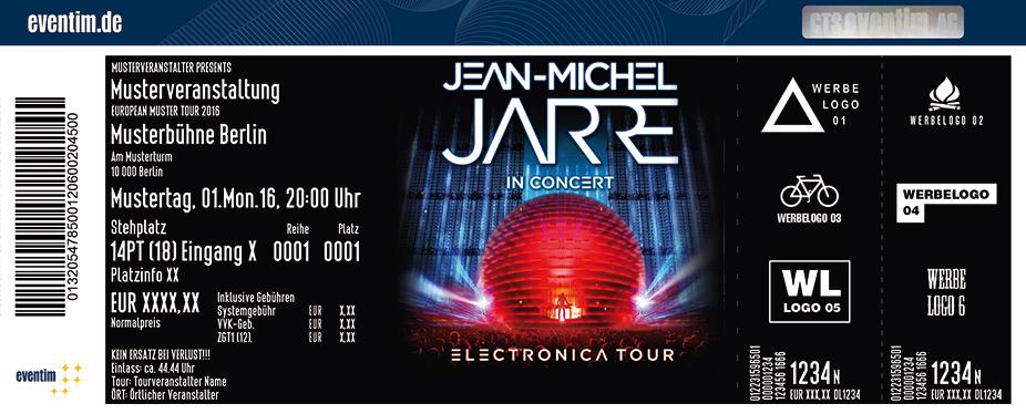 Jean-Michel Jarre Karten für ihre Events 2017