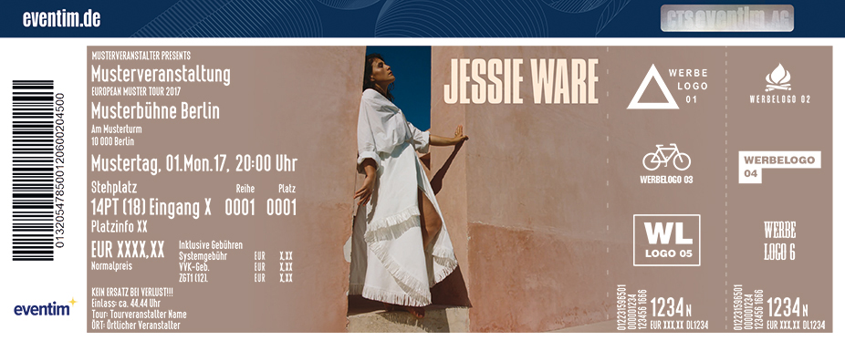 Jessie Ware Karten für ihre Events 2018