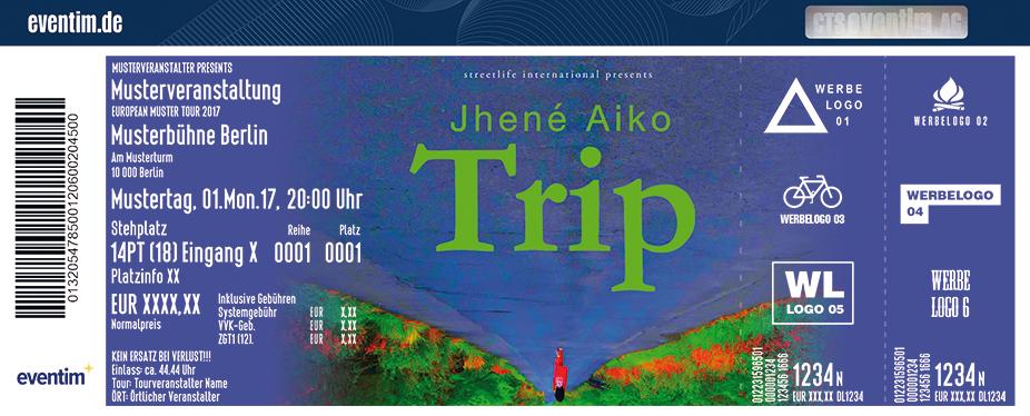 Jhené Aiko Karten für ihre Events 2018
