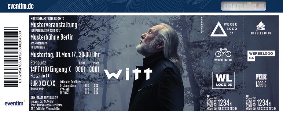 Karten für Joachim Witt: Rübezahl Tour 2018 in München