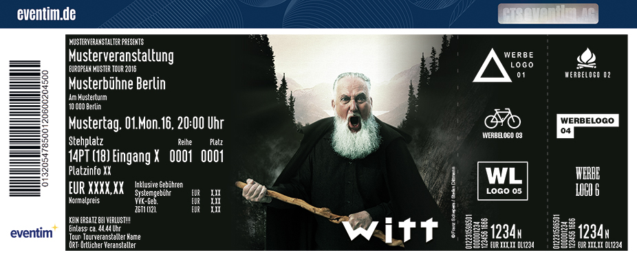 Joachim Witt + Support: Eklipse