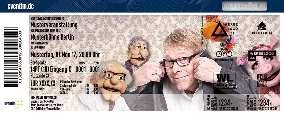 Karten für Jörg Jará: Puppen-Therapie in Delmenhorst
