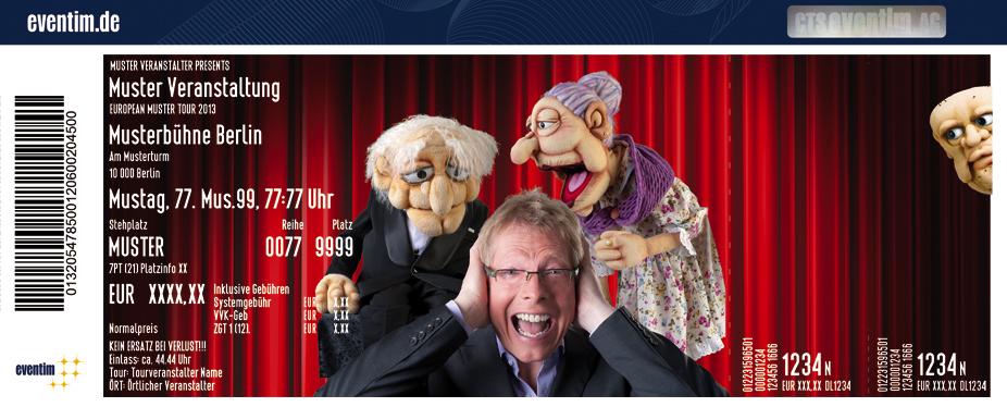 Karten für Jörg Jará: Ich bin viele! - Puppen-Comedy in Reichenbach/vogtland