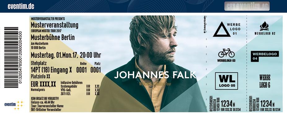 Johannes Falk Karten für ihre Events 2018
