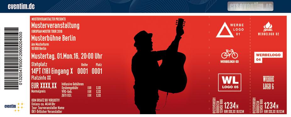Karten für Johannes Oerding - Live 2017 in Dortmund