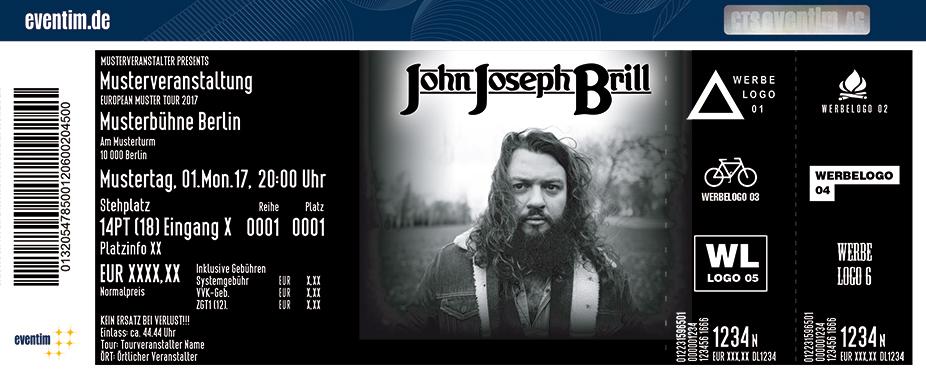 Karten für John Joseph Brill in Hamburg