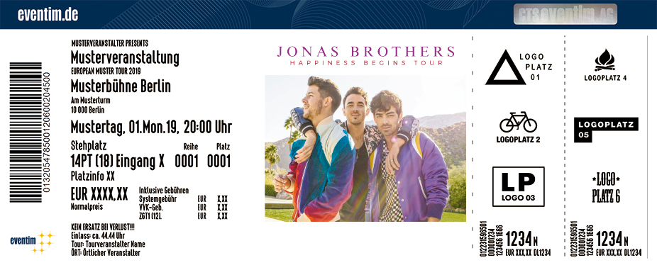 Jonas Brothers - Happiness Begins Tour