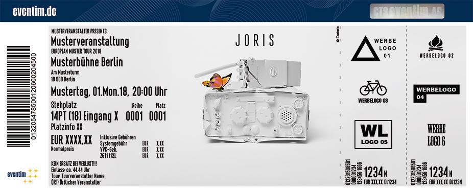Karten für JORIS: Schrei es raus Tour 2018 in Stuttgart