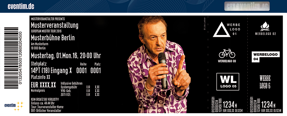 Josef Hader Karten für ihre Events 2018