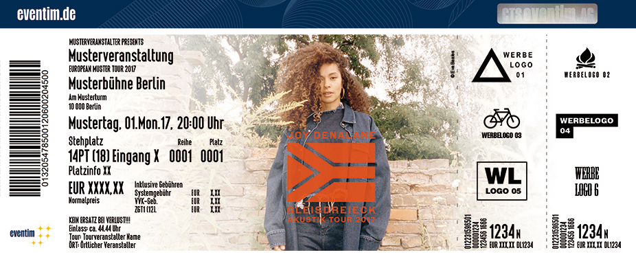 Karten für Joy Denalane: Gleisdreieck Akustik Tour 2017 in Ludwigsburg