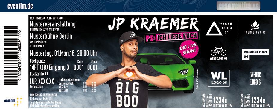 Jp Kraemer Karten für ihre Events 2017