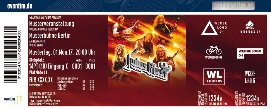 Judas Priest Karten für ihre Events 2018