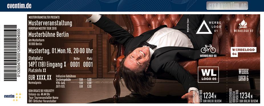 Karten für Jürgen Drews: Es war alles am besten Tour 2018 in Baunatal