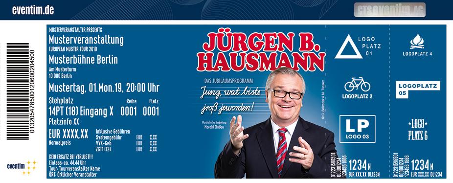 Jürgen B. Hausmann: Jung, wat biste jroß jeworden!