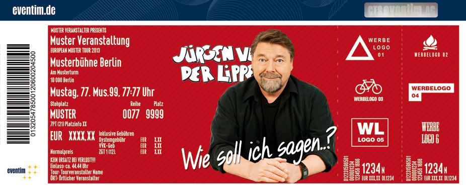 Karten für Jürgen von der Lippe: Wie soll ich sagen...? in Ludwigshafen