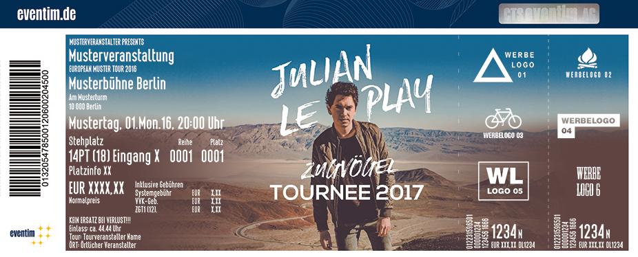 Karten für Julian le Play: Zugvögel Tournee 2017 in Steyr