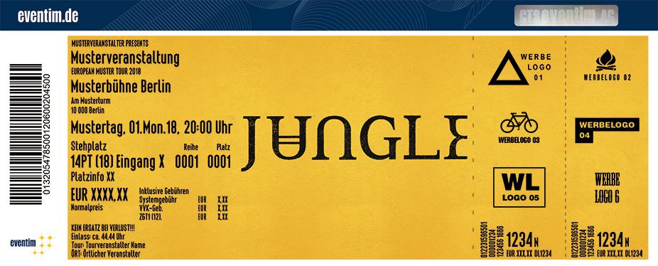 Jungle Karten für ihre Events 2018