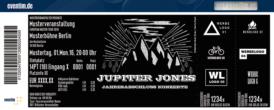 Karten für Jupiter Jones: Jahresabschlusskonzert in Hamburg