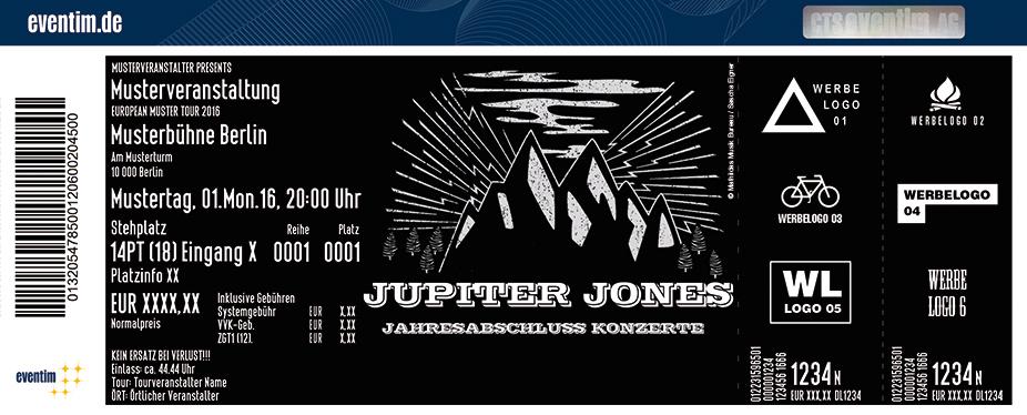 Karten für JUPITER JONES + Jawknee Music - The Number & the Neighbour of the Beast in Hamburg