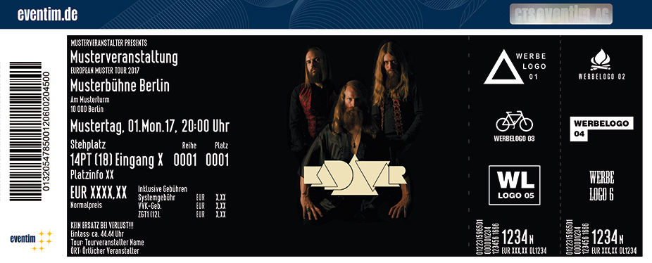 Karten für Kadavar in Wien