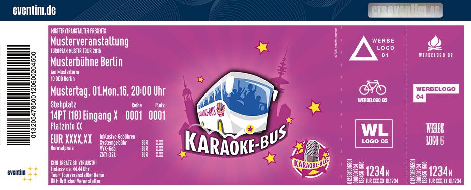 Karaoke-Bus Berlin Karten für ihre Events 2017