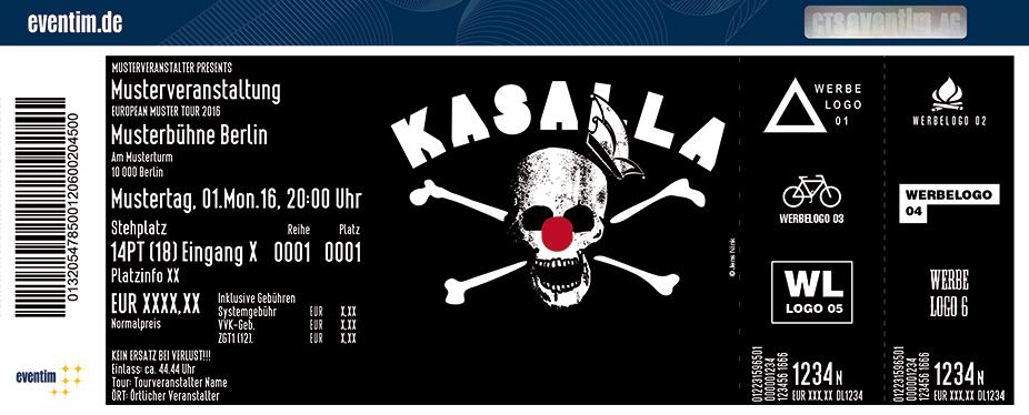 Karten für Kasalla: Mer Sin Eins Tour 2017 in Gummersbach