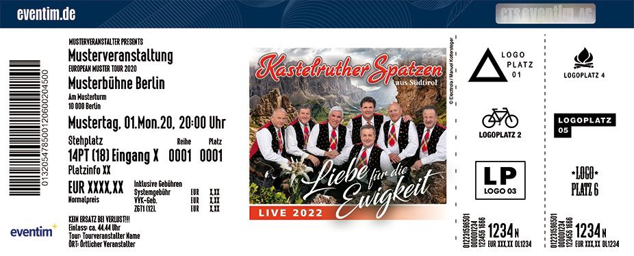 Kastelruther Spatzen - Liebe für die Ewigkeit - Live 2022