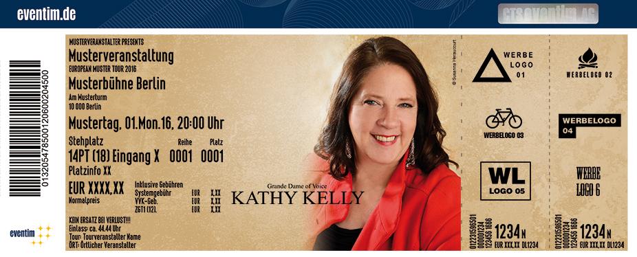 Kathy Kelly Karten für ihre Events 2017