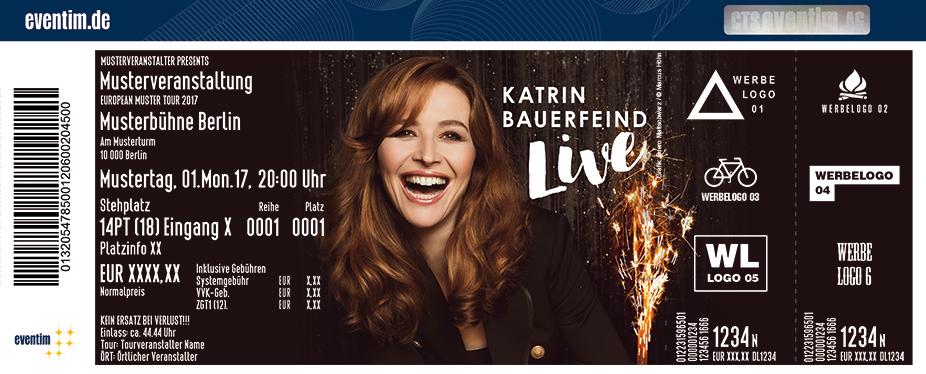 Karten für Katrin Bauerfeind Live - Liebe: Die Tour zum Gefühl in Köln (Deutz)