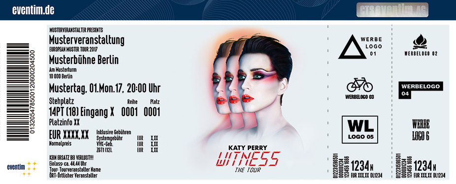tickets f r katy perry in k ln am lanxess arena. Black Bedroom Furniture Sets. Home Design Ideas