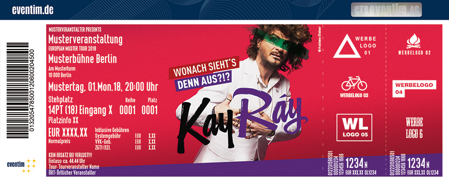 Karten für Kay Ray: Wonach sieht's denn aus?!? in Soest
