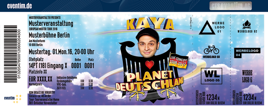 Karten für Kaya Yanar: Planet Deutschland in Bad Blankenburg