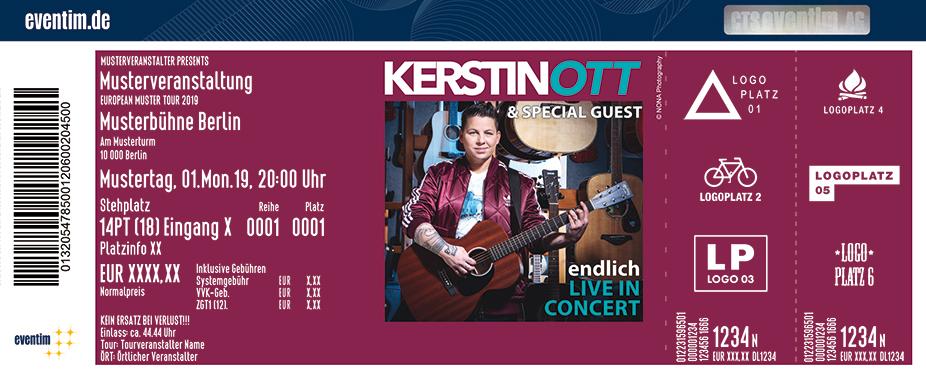 KERSTIN OTT & Special Guest - Endlich Live in Concert