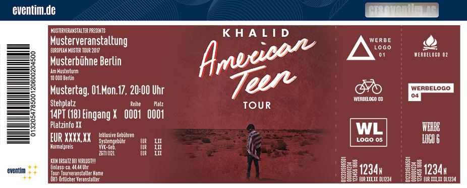 Karten für Khalid in Berlin