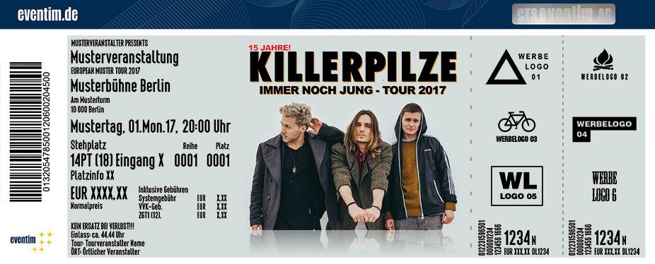 Karten für Killerpilze: Immer noch Jung Tour 2017 in Stuttgart