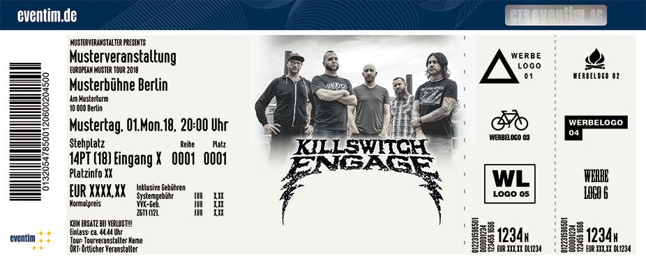 Killswitch Engage Karten für ihre Events 2018