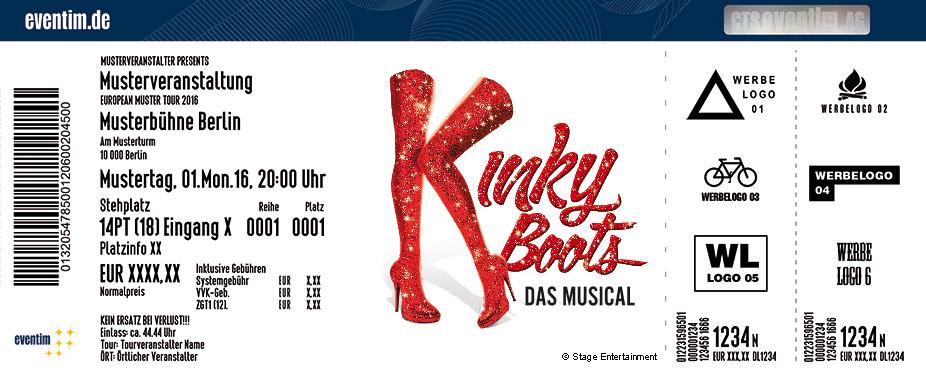 Karten für Kinky Boots - das Musical in Hamburg in Hamburg