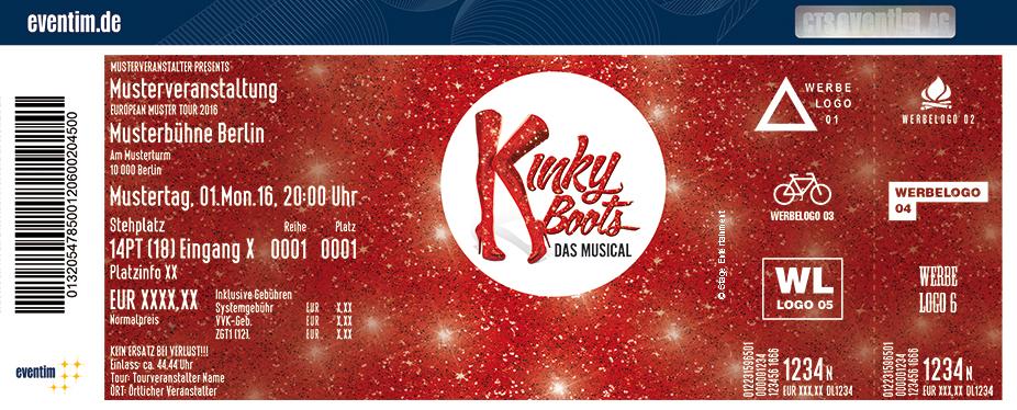 Kinky Boots Karten für ihre Events 2018