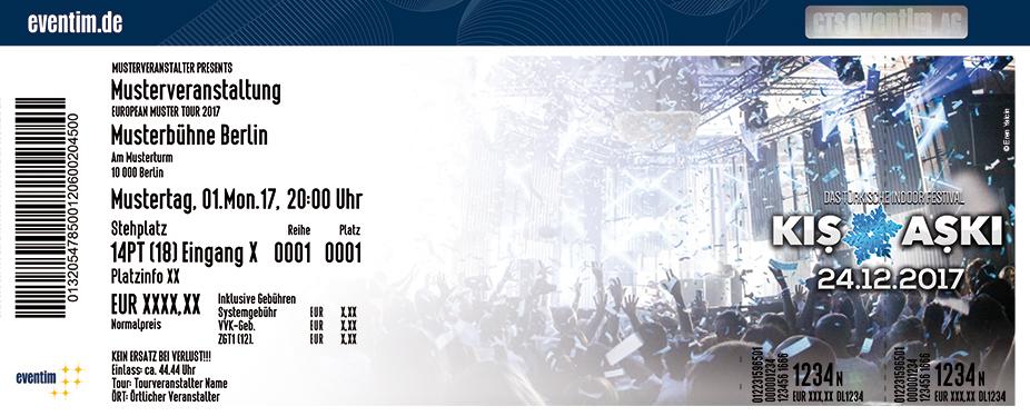 Kis Aski Karten für ihre Events 2017
