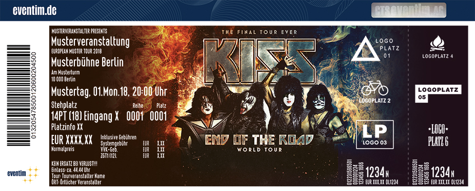 KISS: End Of The Road - World Tour 2019