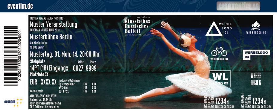 Karten für Schwanensee: Klassisches Russisches Ballett aus Moskau in Ratingen